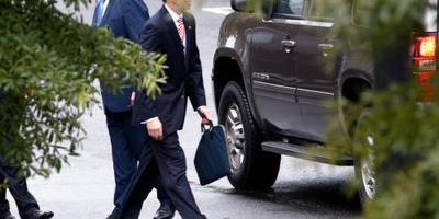 Trump ontmoet Rosenstein donderdag