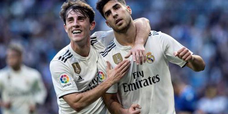 Real Madrid simpel naar volgende ronde