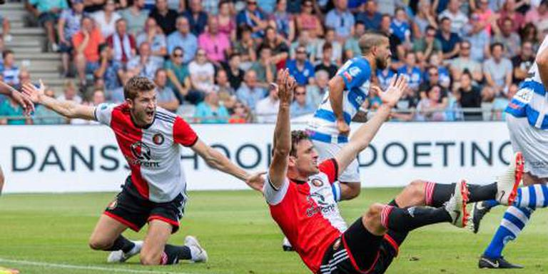 Feyenoord verliest van De Graafschap