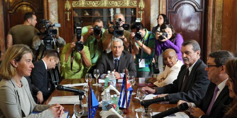 EU en Cuba halen banden aan