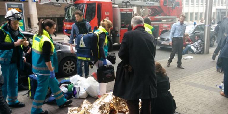 Veel gewonden explosie metrostation Maalbeek