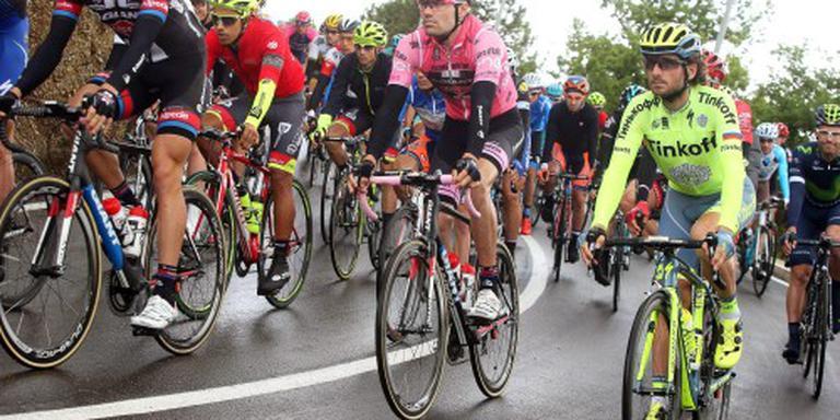 Wellens wint rit, Dumoulin steviger in roze