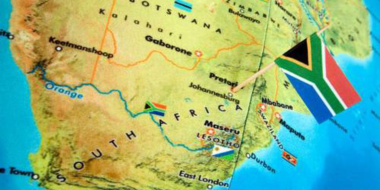 Nederlanders gered na omslaan boot Zuid-Afrika