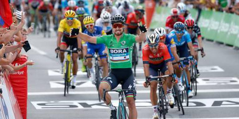 Sagan: met dank aan Van Avermaet