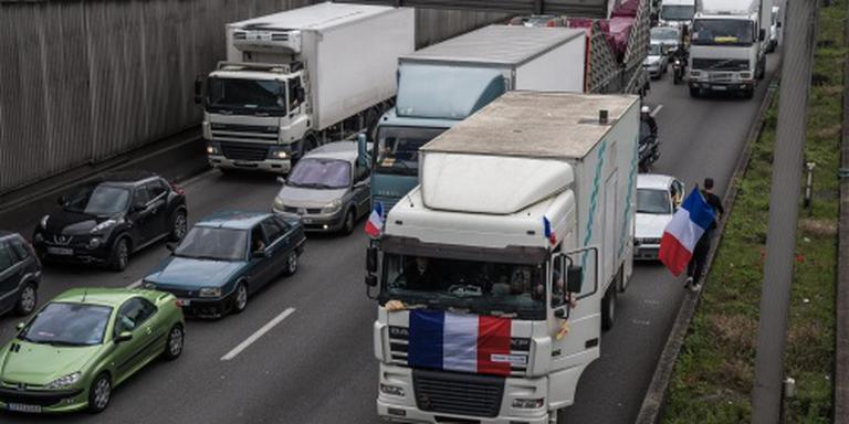 Grote betoging in Parijs