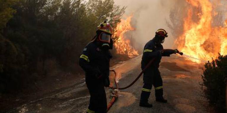 Dodental bosbranden Griekenland loopt snel op