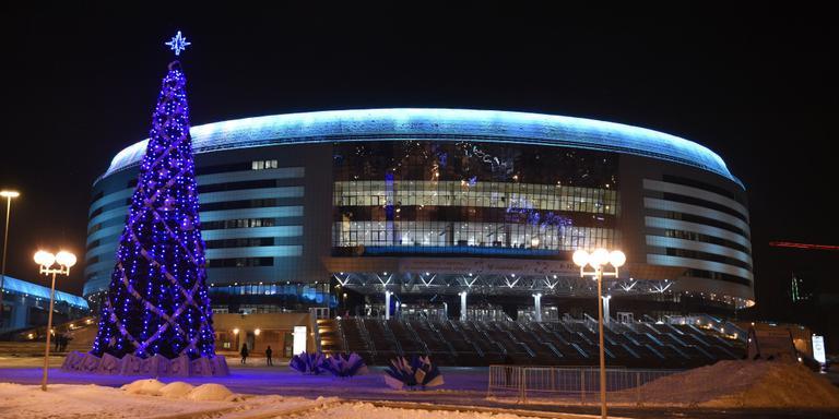 Minsk is trots op laatste 'oude' EK