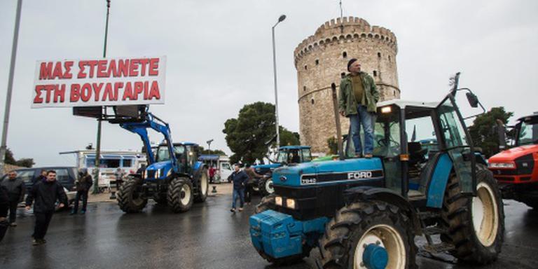 Griekse boeren willen blokkades uitbreiden