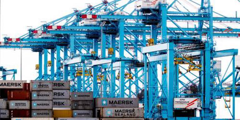 Topjaar voor containeroverslag in Rotterdam