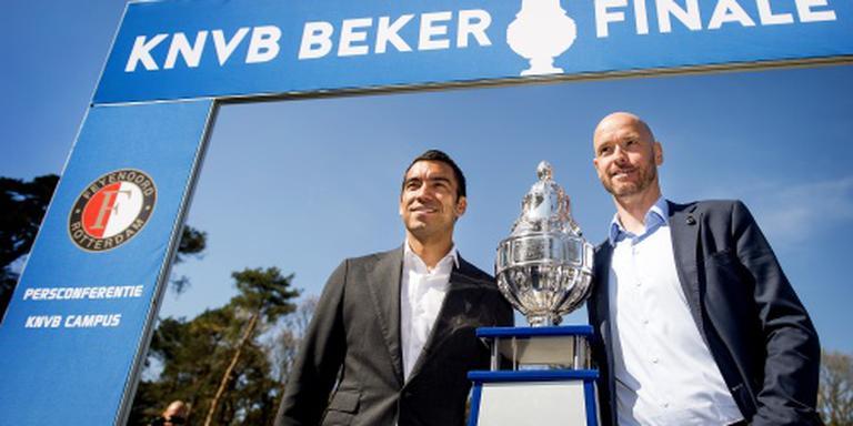 Feyenoord en Utrecht strijden om KNVB-beker