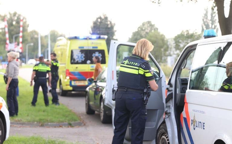 Fietser gewond bij aanrijding in Heerenveen.