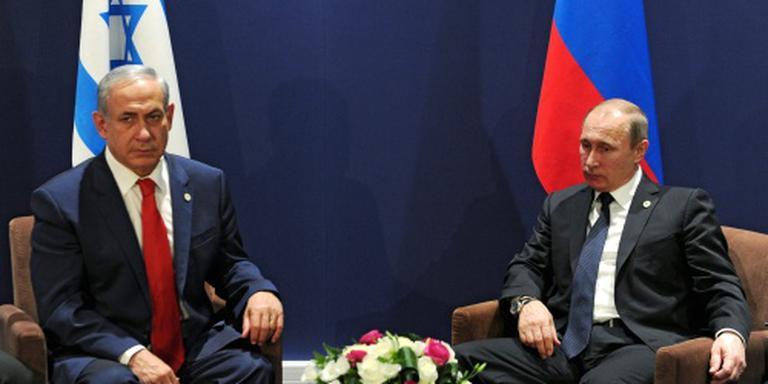 Ontmoeting van Netanyahu en Poetin