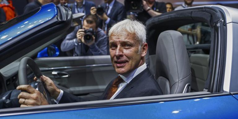 Managers Volkswagen krijgen geen bonus