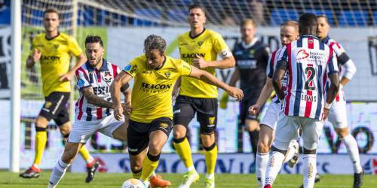 VVV-Venlo wint mede dankzij VAR bij Willem II
