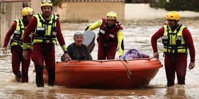 Noodweer houdt huis in zuiden Frankrijk