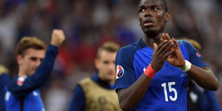 Pogba in opspraak bij Fransen