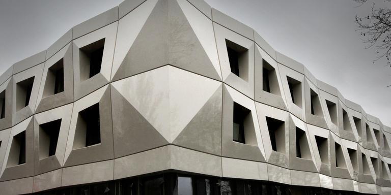 Het gebouw van Fier in Leeuwarden.