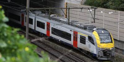 Belgische trein live te volgen