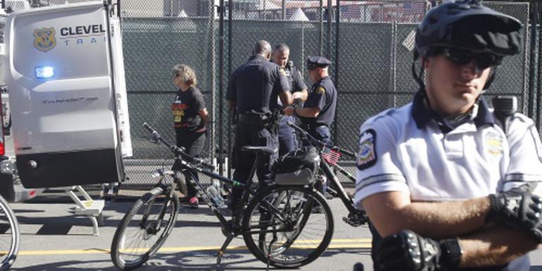 Arrestaties bij protesten tegen Trump