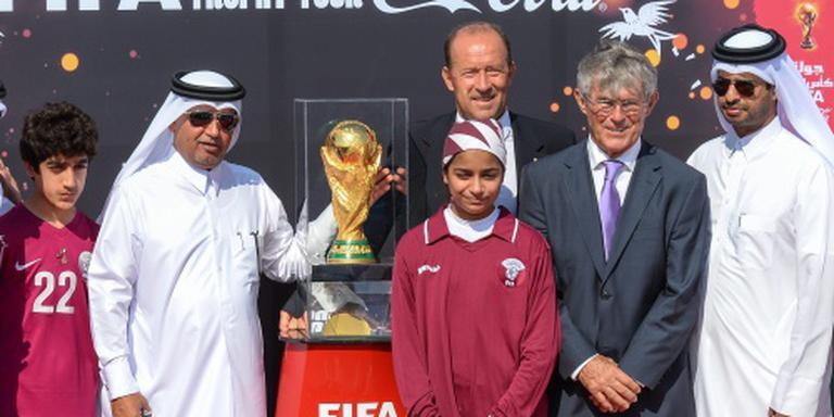 'Arbeiders WK Qatar nog steeds uitgebuit'