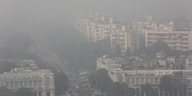 Smog in New Delhi bereikt recordwaarden
