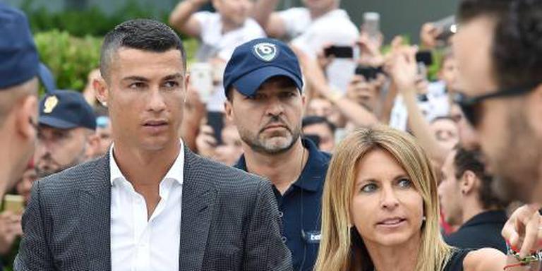 Warm onthaal voor Ronaldo in Turijn