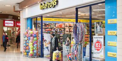 Faillissement voor Intertoys