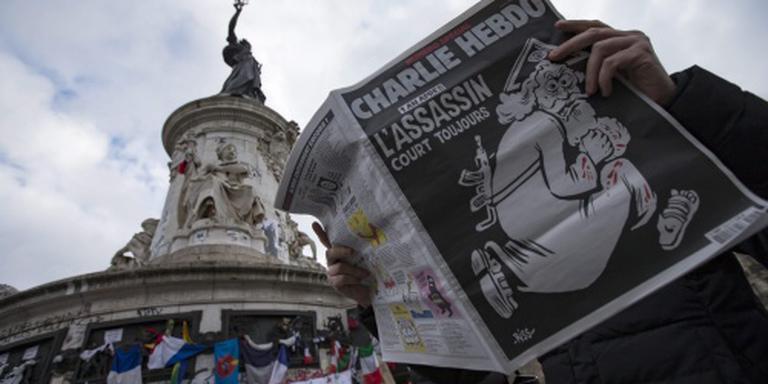 Frankrijk herdenkt aanslag op Charlie Hebdo