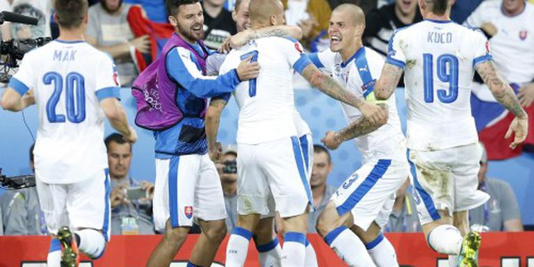 Knap herstel Slowakije tegen Rusland