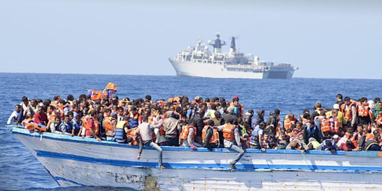 Duizenden migranten gered op zee