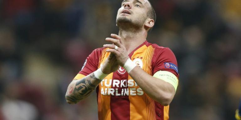 Sneijder en 'Gala' in gedachten in Turkije