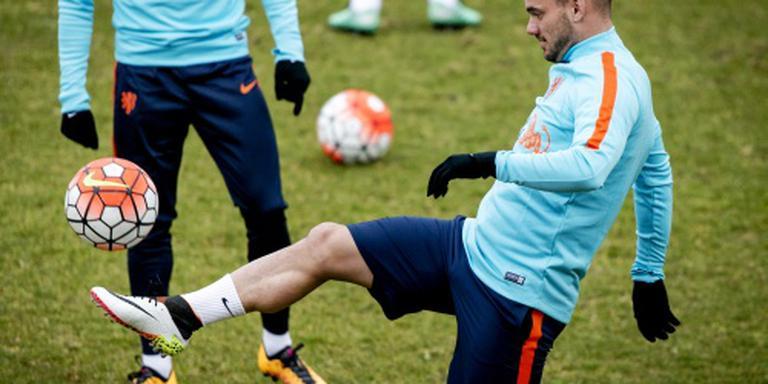 Sneijder ziet toekomst in Oranje