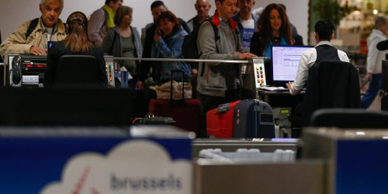 Forse vertragingen op vliegveld Brussel