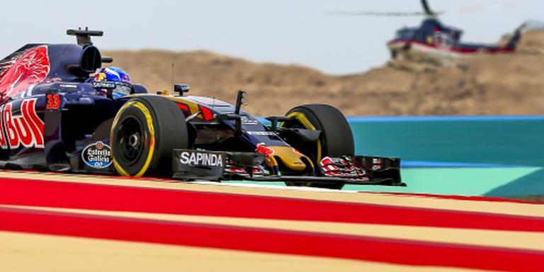 Verstappen vierde in tweede training Bahrein