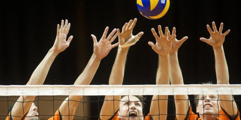 Volleyballers opnieuw langs Slowakije