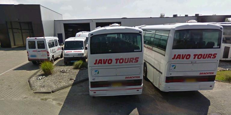 Javo Tours aan De Bolder in Drachten.