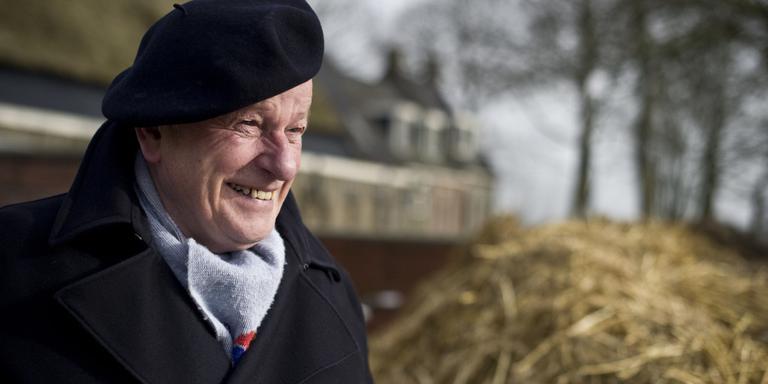 Oud-wethouder Jaap Keizer pleitte er vorige week voor de fusiegemeente Leeuwarderadeel te noemen. FOTO HOGE NOORDEN/JACOB VAN ESSEN