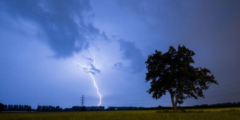 Coee geel vanwege onweer. FOTO ANP