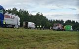 Heldenactie op snelweg bij Steenwijk: alerte chauffeur gooit vrachtwagen voor ongeluk om erger te voorkomen