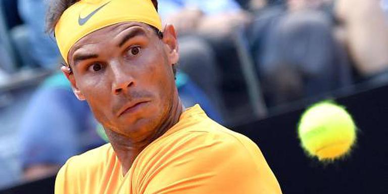 Nadal na vier jaar weer in halve finale Rome