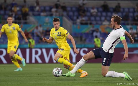 Engeland walst over Oekraïne heen in kwartfinale van EK