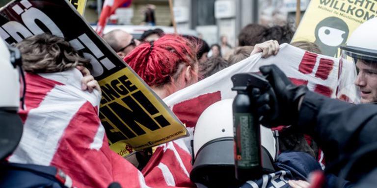 Gewonden na demonstratie in Wenen