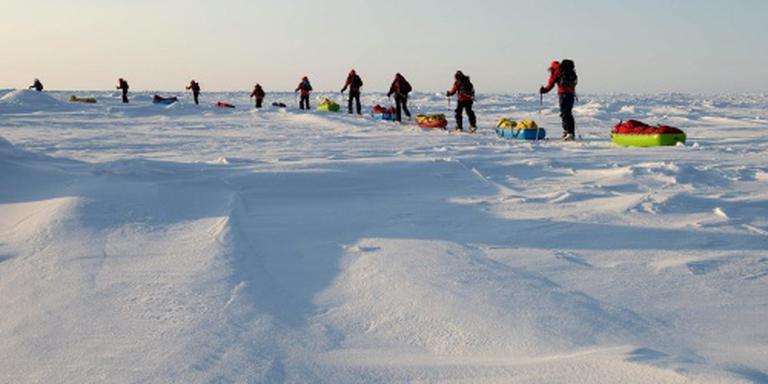 Hittegolf op Noordpool