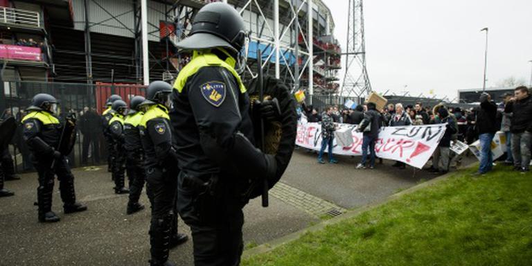 Justitie hoort opgepakte Feyenoord-supporters