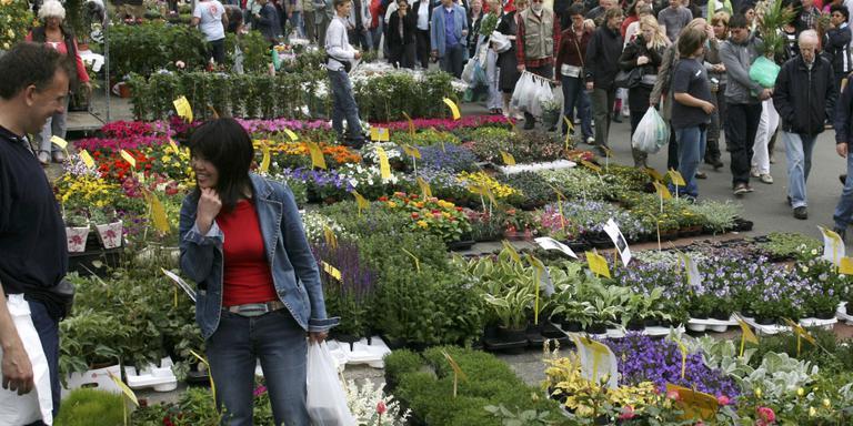 Bloemenmarkt moet uitwijken op 5 mei