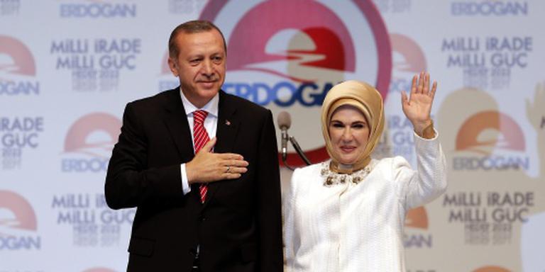 Vrouw van Erdogan: harem was leerschool