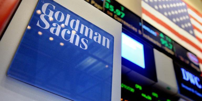 Miljoenenboete voor Goldman Sachs