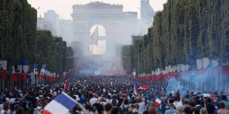 Parijs gaat los na behalen wereldtitel
