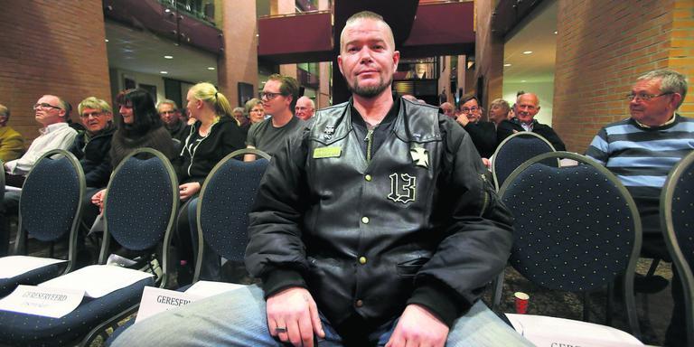 Tot de insprekers hoorde de heer Bijker. De enige voorstander onder de insprekers troch zich terug. FOTO NIELS WESTRA