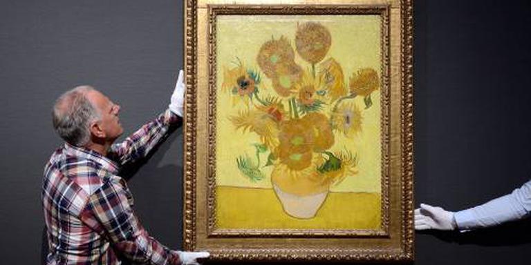 Zonnebloemen Van Gogh naar Japan